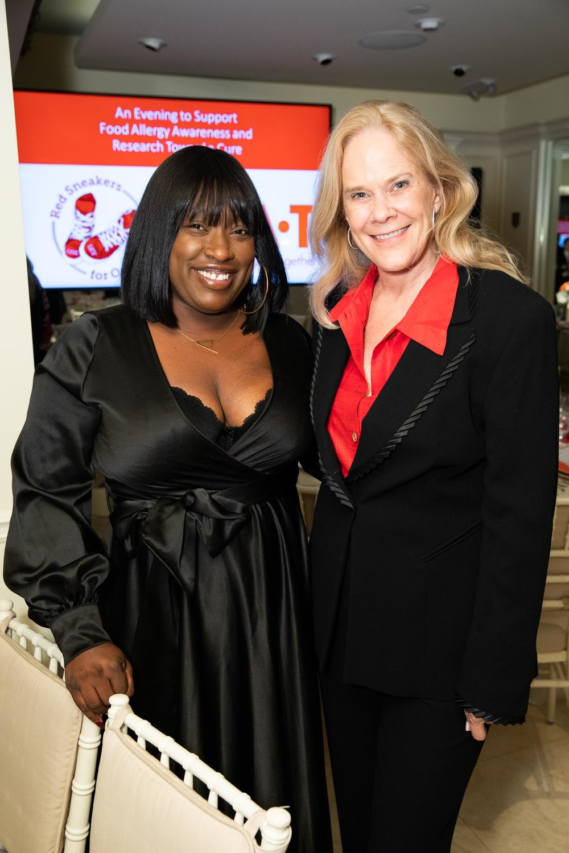Alandria Jones and Julie Araskog