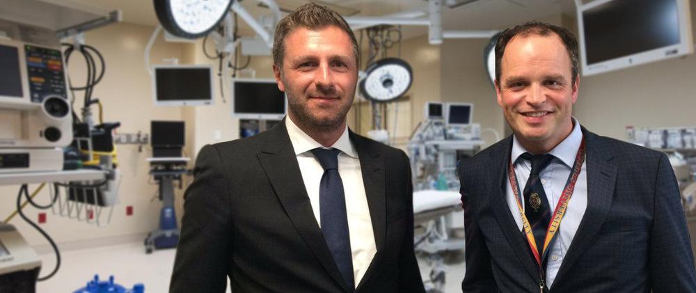 Dr. Bisleri & Dr. Glover -