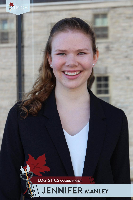 Jennifer Manley, Logistics