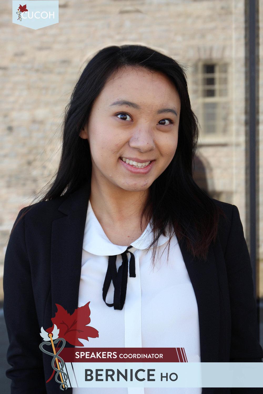 Bernice Ho, Speakers
