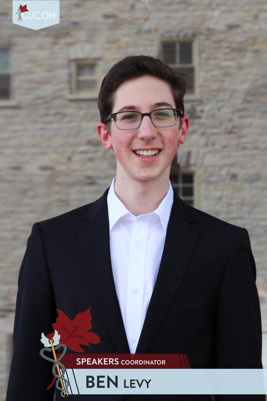 Ben Levy, Speakers