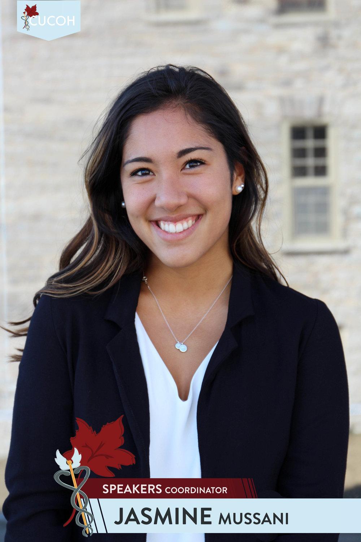 Jasmine Mussani, Speakers