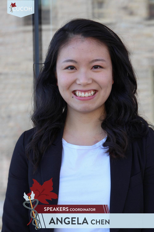 Angela Chen, Speakers