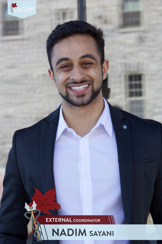 Nadim Sayani, External