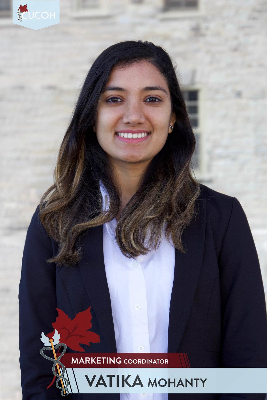 Vatika Mohanty, Marketing