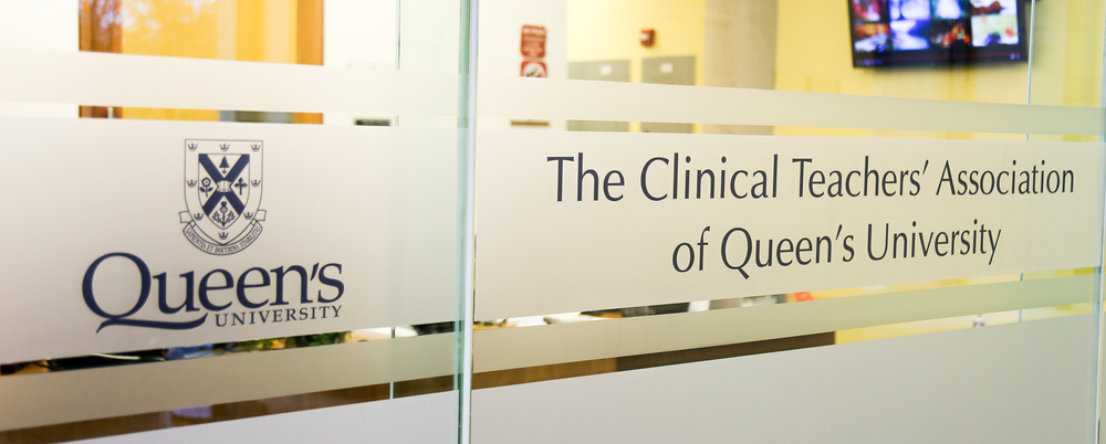 - 3. Enter those doors and walk through the office to reach the Clinical Teaching Centre.