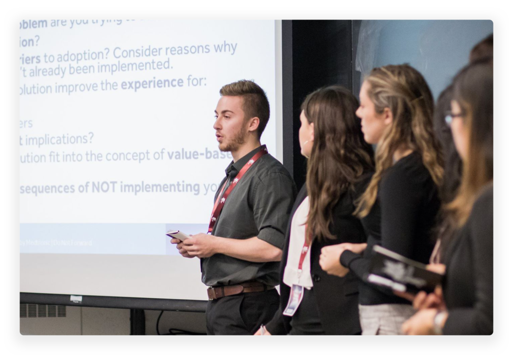 Test Your Knowledge - Increase the exchange of knowledge between professionals and students from across Canada by facilitating interdisciplinary discussion and debate on a range of topics that highlights the diversity of health-related issues.