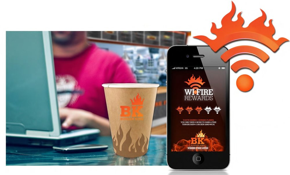 Wi-Fire loyalty rewards App
