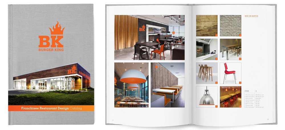 Burger King - Store design guideline book