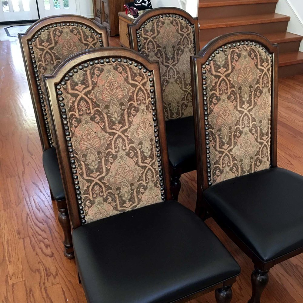 Side Chairs - Six Total w/ Table (Two Additional For Sale)