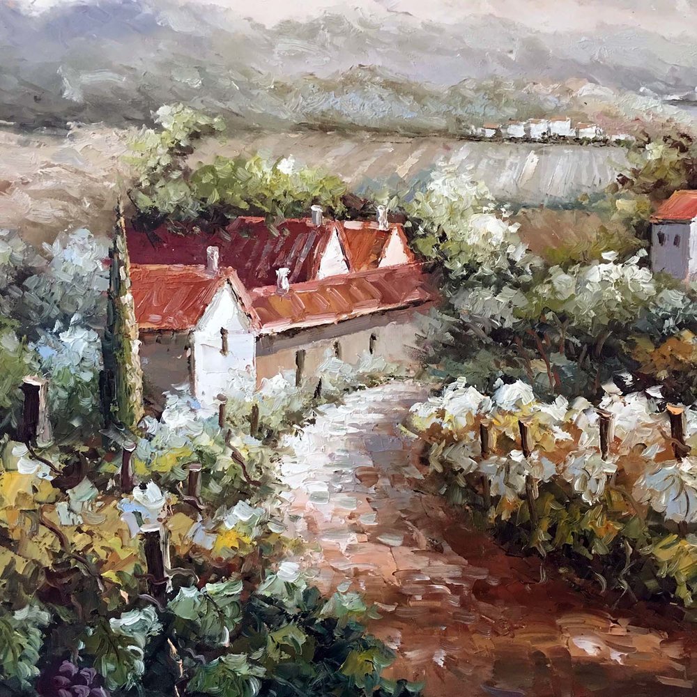 Original Landscape Oil Painting I    $379