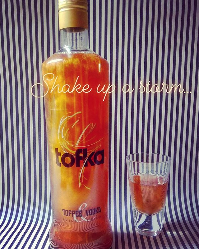 Shake up a storm... it's vodka night! #tofka #vodkanight