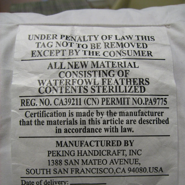 Do Not Remove Under Penalty Of Law