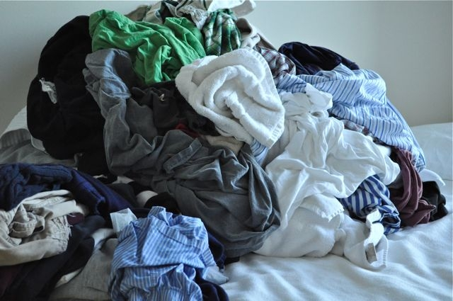 Try not to use the bed as a staging area for papers or dirty clothes.