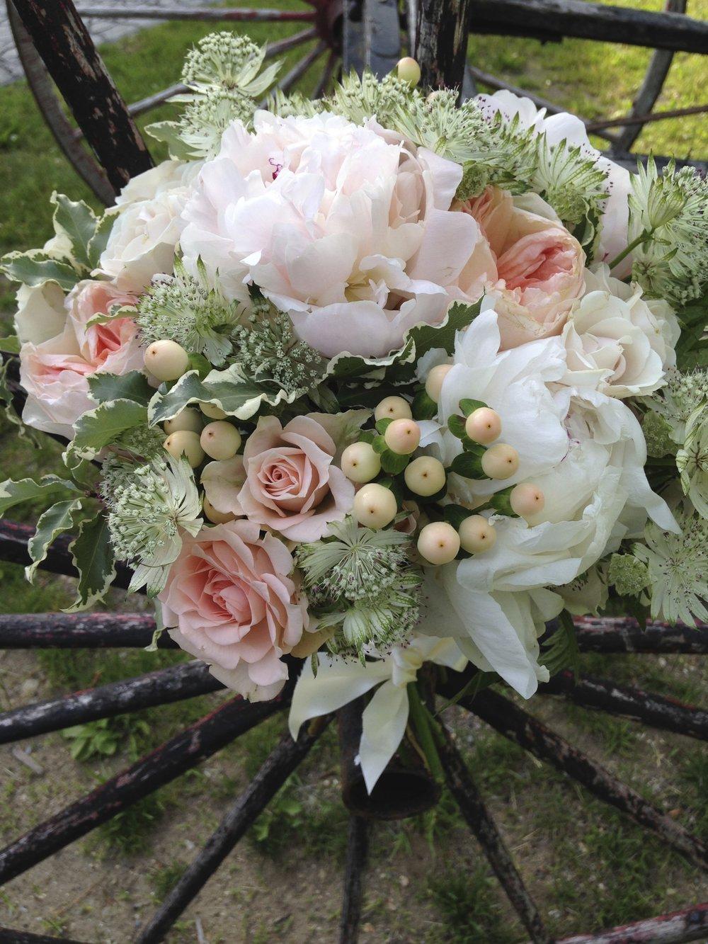 sorbet bridal bouquet