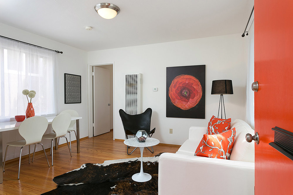 LIVING ROOM - A WELCOMING SPACE