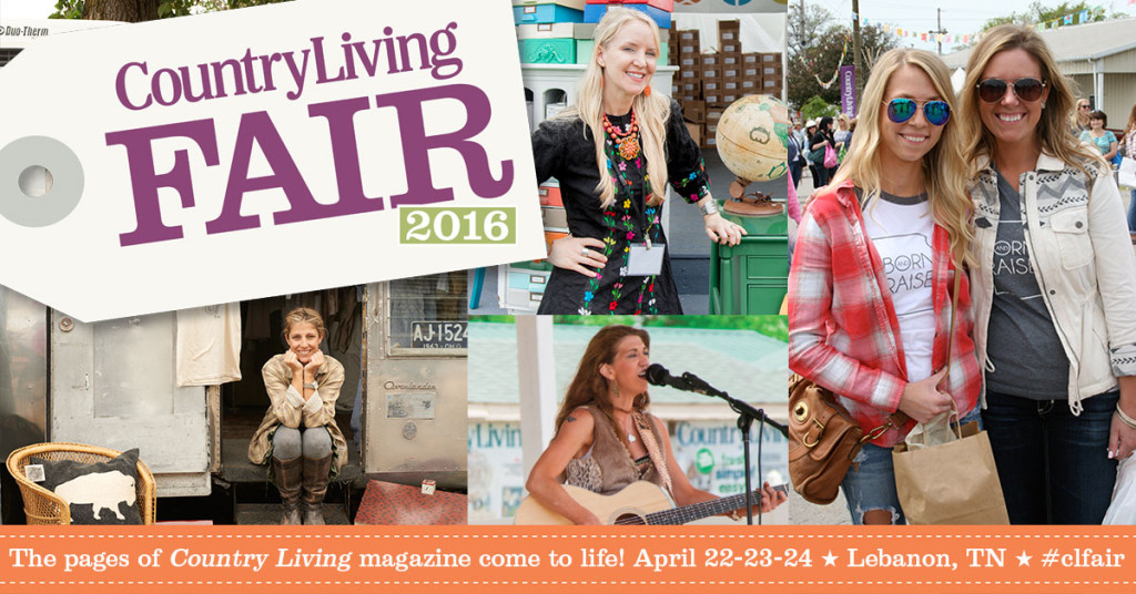 Julie Couch at the Country Living Fair April 22, 2016