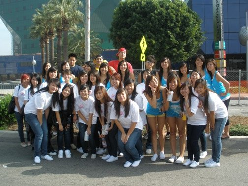 AIDS Walk w/CSULA Beta Omega Phi