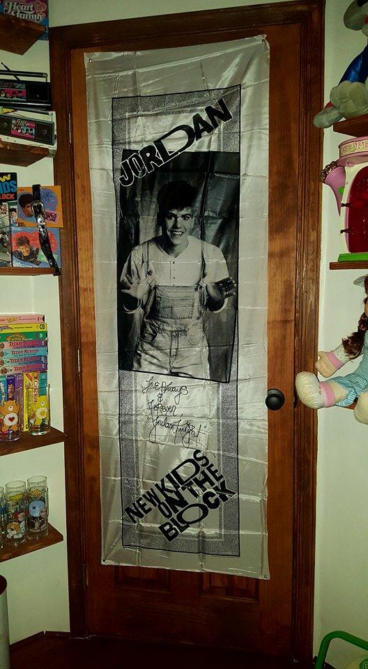 """80's Themed Room - The Silk Jordan Knight """"Poster"""""""