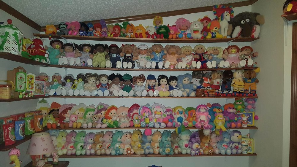 Cabbage Patch Kids, Rainbow Bright, Care Bears!