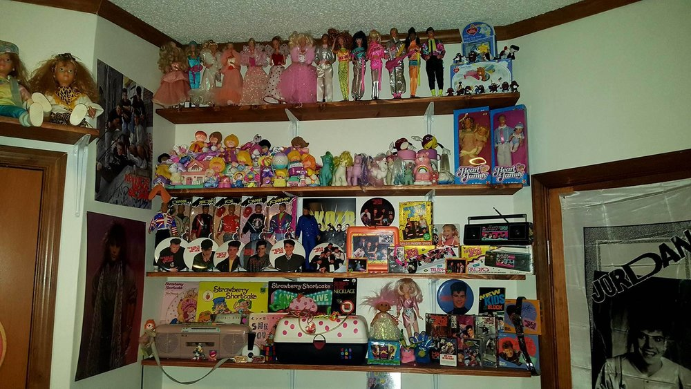 The New Kids on the Block Shelf...Give Me ALL the Dolls