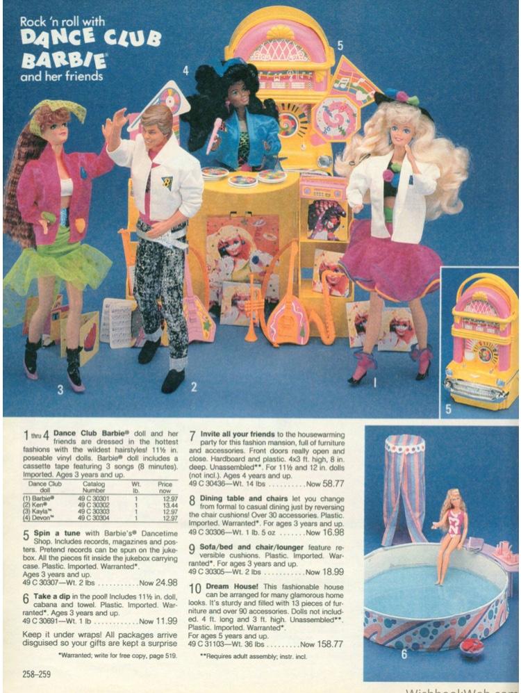 Brooke - Rock n Roll Dance Club Barbie - wishbookweb.com