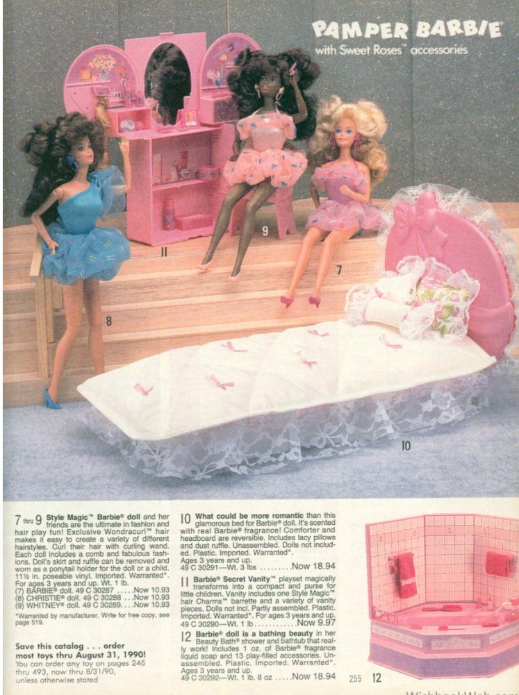 Brooke - Pamper Barbie - wishbookweb.com