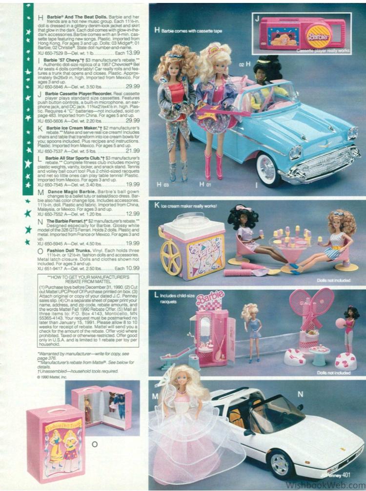 Brooke - Barbie 57 Chevy - wishbookweb.com