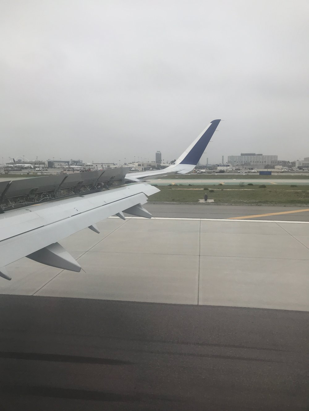 Landing in LA!