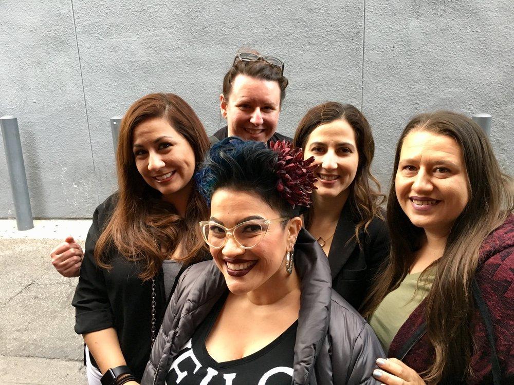 Waiting for Joey McIntyre Hollywood Nights!  Photo by Jenny - Jenny, Nikki, Patty, Amanda, Charlene