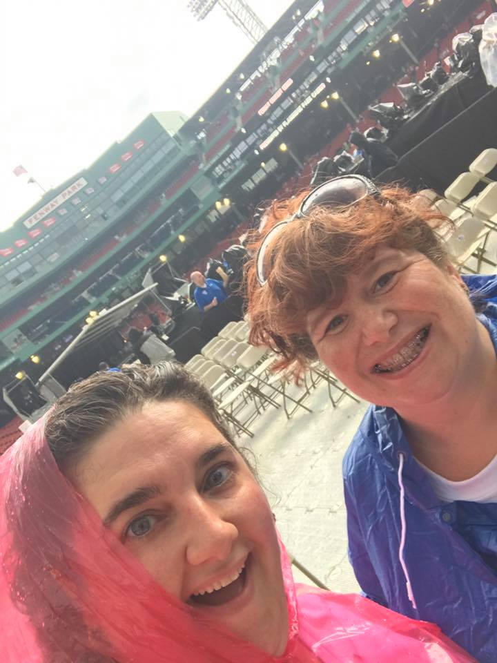 Amy and I at Fenway in 2017