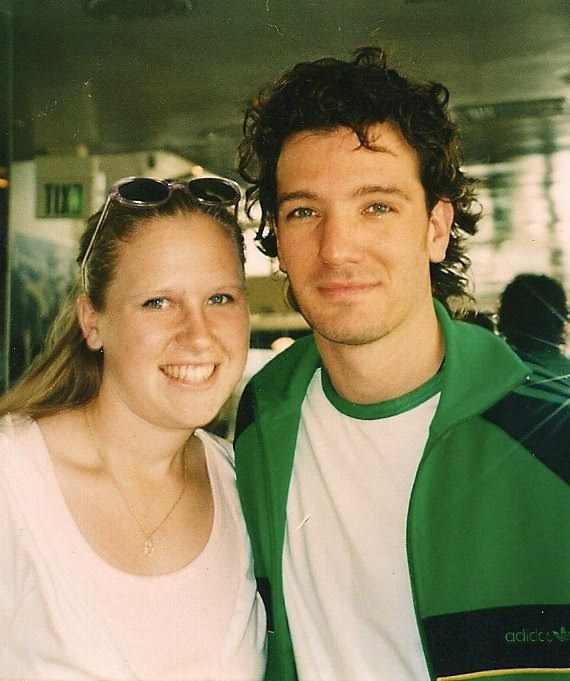 Stephanie and JC Chasez 2003