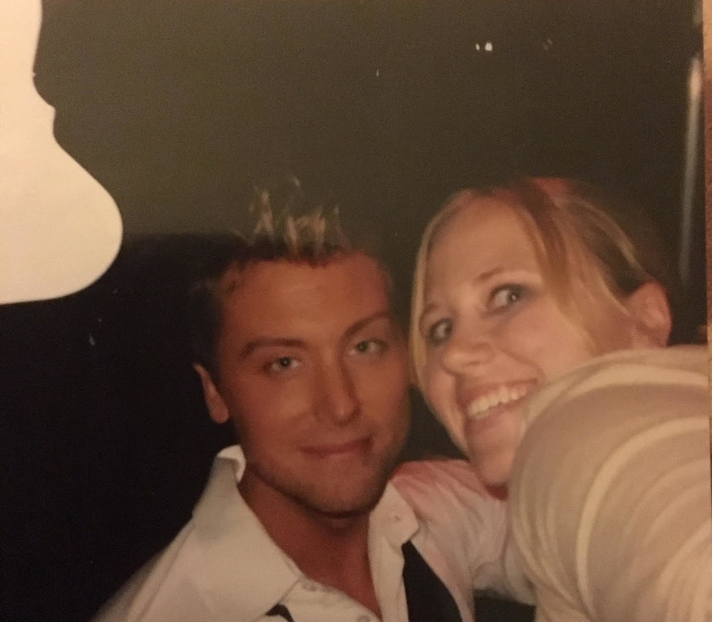 Stephanie and Lance Bass 2008