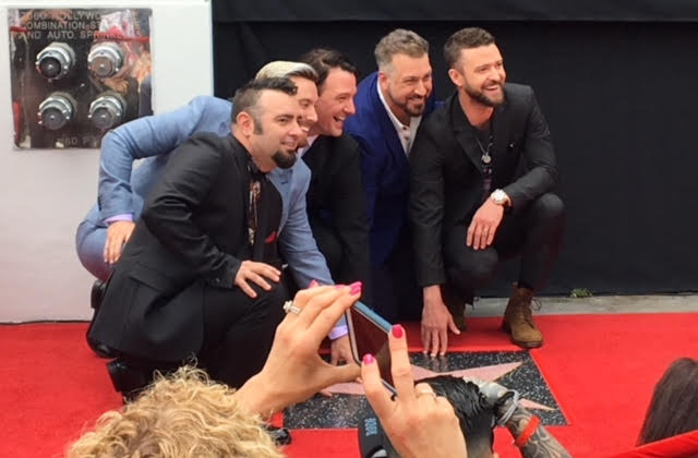 *NSYNC Hollywood Walk of Fame Star Ceremony