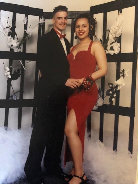 Christina's Prom Pic -
