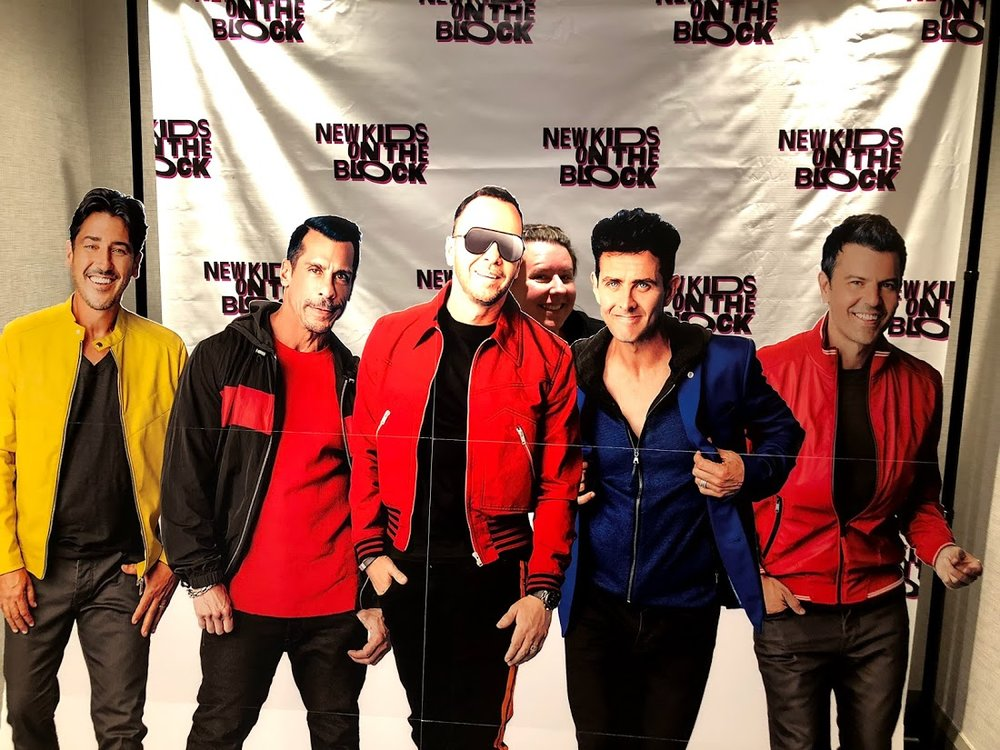 Nikki & NKOTB New Kids on the Block Cruise X 2018 Pop-up at Marriott Biscayne Bay