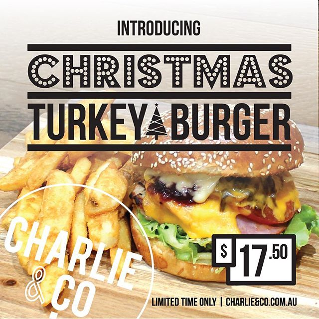 🎅🏻🎄🎁 Merry Christmas to our customers. Starting today everyday is #christmas with last year's very popular #ChristmasTurkeyBurger back for the month of December. Tuckin