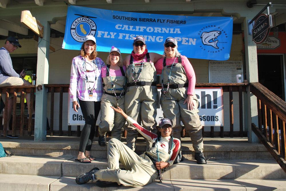 Team CfR- Carole, Traci, Jeri, Jenni and Norissa