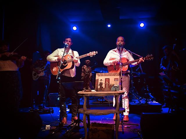 """Thank you so much to everyone who came to our release show on Saturday night. We're blessed to have so many folks who care about us. Big thanks to @haleymlabelle, @jubaltune, @eviefiddles, @taylorthomasburris , @kress.taylor @danielkimbromusic, Robert Jones, @jesmithmusic, Ben Maney, @abridgedbeer , @josh.hill.54738, @ashers2233 and everyone else who took part. Hope y'all like """"Riding High"""""""