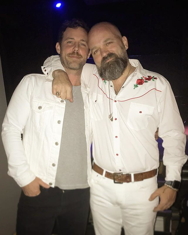 #tbt to photographic evidence that we both look good in white and our heads are crazy different sizes