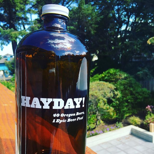 Enjoy HAYDAY! Happy Hour from 4-5 p.m. Sat. 8/26 at HAYDAY2017! During the last hour of HAYDAY! Beer Fest, you get a growler and fill with the beer of your choice for just $15. BONUS: if the keg blows during your fill, it's only $5. CHA-CHING!