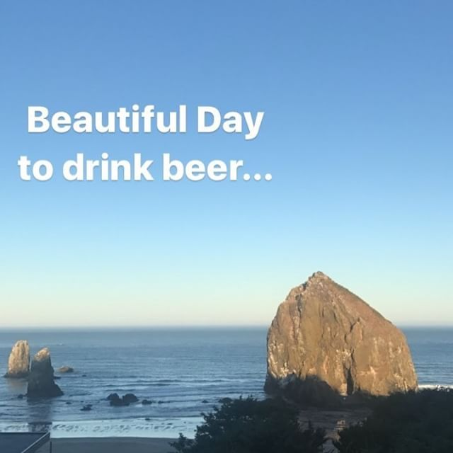 TODAY is the day! And it's a beautiful day to beer fest, everyone! We are READY for you! Head to HAYDAY! in Cannon Beach, doors open at 1 pm for GA. There are 46 Oregon Beers just WAITING for you. See you there, friends.