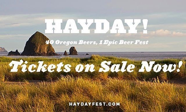 HAYDAY! 2018 is almost here, and we can't wait to share with you all what's in store. Tickets are available now!  Get yours here:  https://bit.ly/2LonhbB  Cheers!🍻