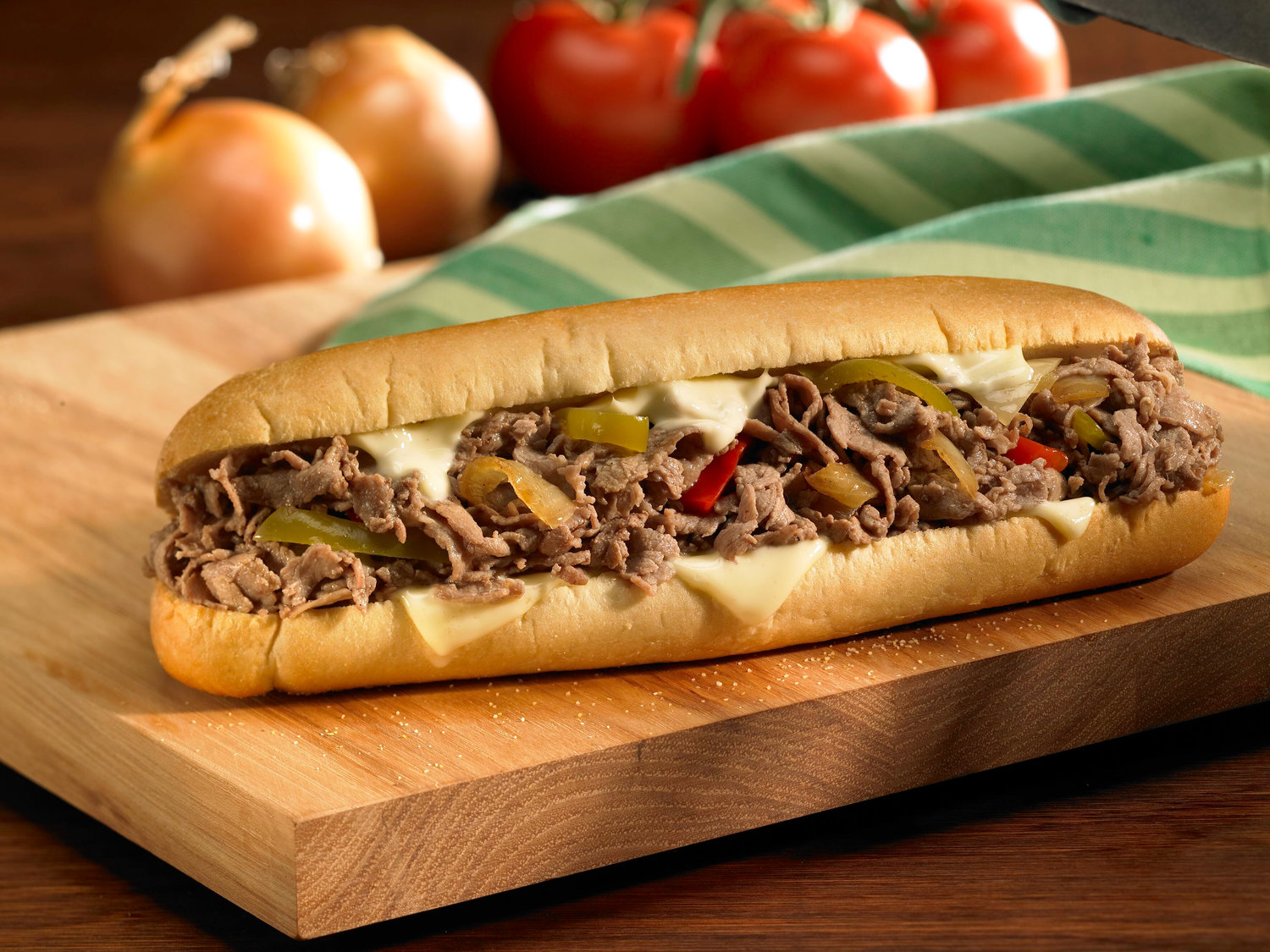 Famous Phillys Cheesesteak