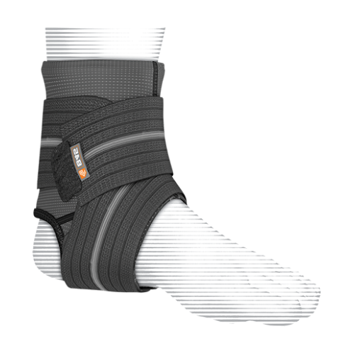 Features & Benefits   Elastic mesh sleeve with multi-directional compression straps   BEST FOR: Helps prevent and heal Grade 1 sprains and minor ankle instability  LEVEL 2 - MODERATE:  SUPPORT—COMPRESSION/ALIGNMENT/HEALING  Moderate support for minor/moderate sprains/strains/instabilities during active recovery  Soft tissue support, joint alignment, therapeutic warmth/blood flow  Proprioception: Bio-neurological awareness of stress—added support informs muscle to contract to protect itself  WARNING: This product is not a substitute for medical care. Always seek professional medical advice for the diagnosis and treatment of pain, injury or irritation.  Customer Reviews  (5) Reviews  Product Quest
