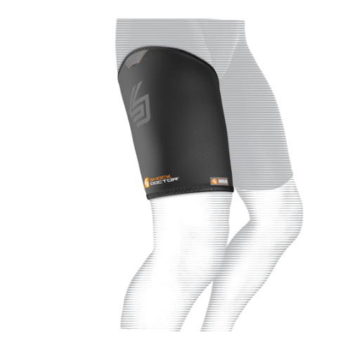 Features & Benefits   N-Tex™ vented neoprene for compression and therapeutic warmth and healing   BEST FOR: Helps prevent and heal mild to moderate groin, hamstring and quad strains  LEVEL 1 - LIGHT:  COMPRESSION—ALIGNMENT/HEALING  Light support in extended daily use for minor pain/sprains/strains  Soft tissue support, joint alignment, therapeutic warmth/blood flow  Proprioception: Bio-neurological awareness of stress—compression informs muscle to contract to protect itself  WARNING: This product is not a substitute for medical care. Always seek professional medical advice for the diagnosis and treatment of pain, injury or irritation.