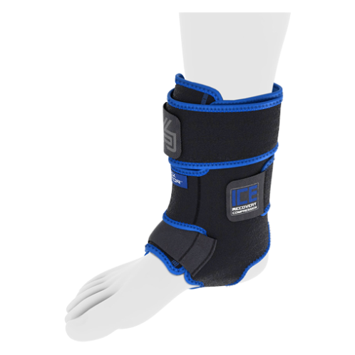 Features & Benefits  Anatomically designed with adjustable straps and multiple gel ice packs, the Ankle Compression Wrap is the most complete icing solution on the market for injured or sore ankles. It helps reduce swelling and pain in the ankle joint, foot and lower leg through gentle compression and deep 360° ice coverage.  DUAL THERAPY:  Use ice therapy for sprains, strains, tendonitis and post activity soreness and swelling  Use heat therapy to loosen stiff muscles and to relieve arthritis and muscle spasm pain  PDAC Assigned Code:  A9273 OR A9270