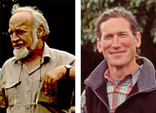 Bill Mollison (1928-2016) and David Holmgren (b. 1955)