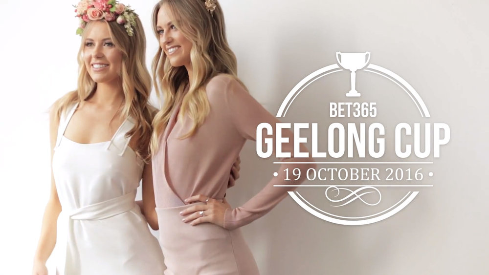 Geelong Cup - Lucy and Ruby Brownless
