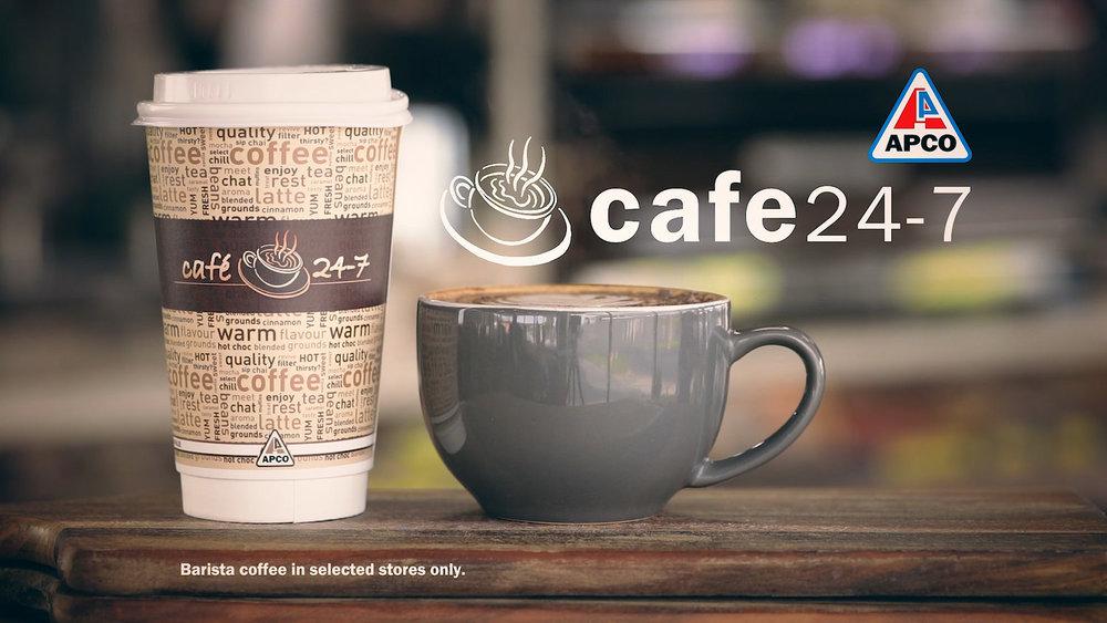 Cafe 24/7 Barista Campaign - TVC
